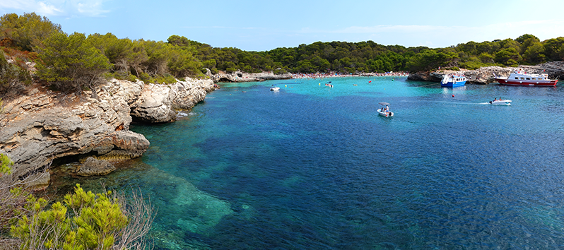 beaches you need to visit in Majorca, Cala Mitjana