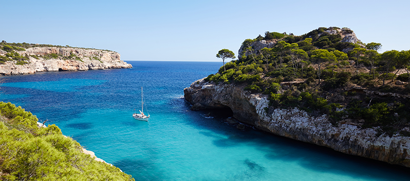 beaches you need to visit in Majorca, Caló des Moro