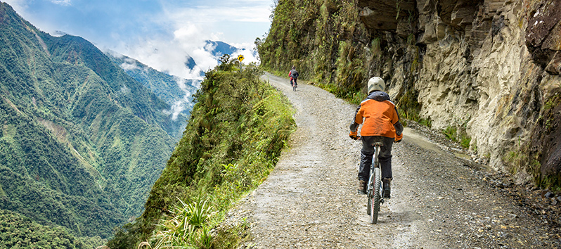 best cycling routes in the world, Death Road (Bolivia)