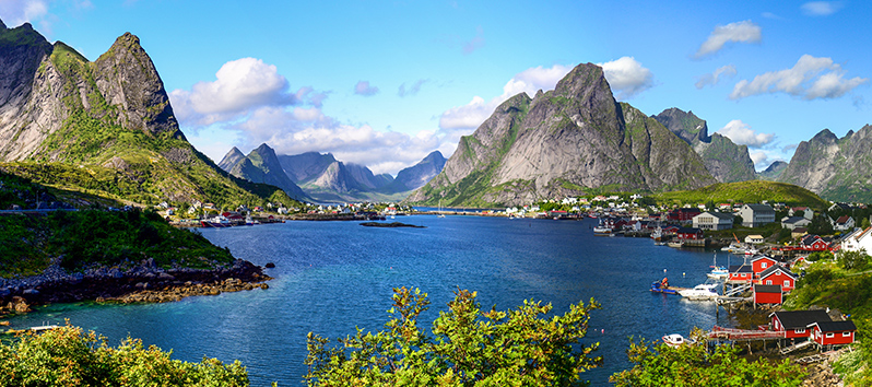 best cycling routes in the world, Lofoten Islands (Norway)