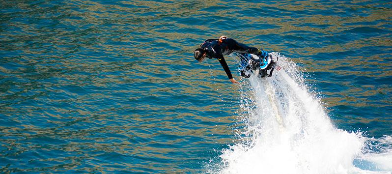 Flyboard, deportes acuáticos en Mallorca