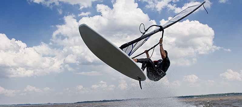 Windsurf, deportes acuáticos en Mallorca