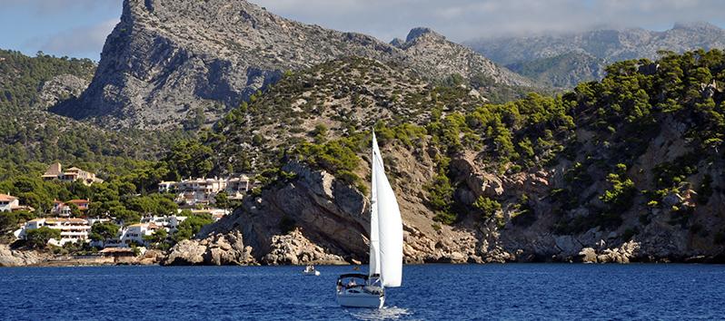 Vela, deportes acuáticos en Mallorca