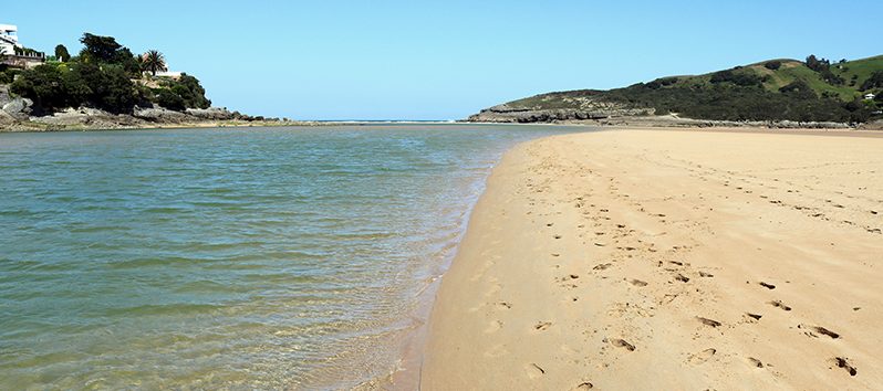 best beaches to visit with kids, Playa de la Arena (Cantabria)