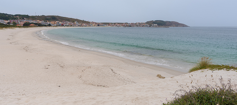 best beaches to visit with kids, Playa de Laxe (A Coruña)
