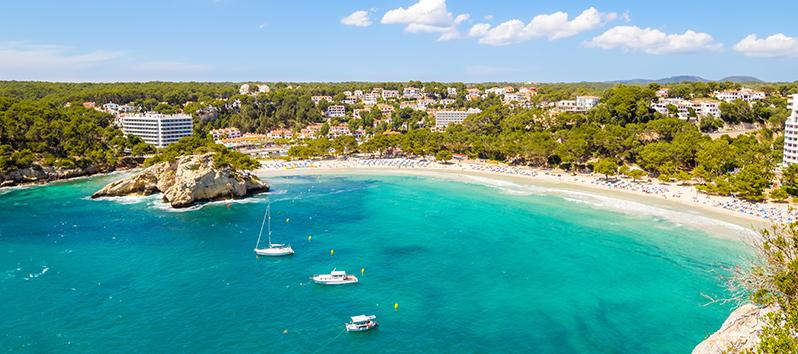 best beaches to visit with kids, Cala Galdana (Menorca)