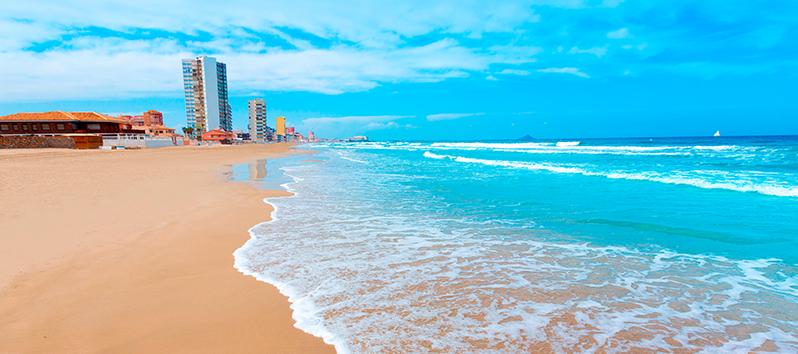 best beaches to visit with kids, La manga del Mar Menor (Murcia)
