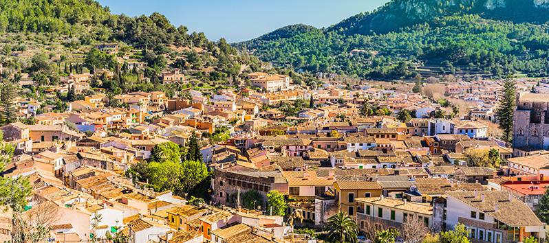 Esporles, pueblos del interior de Mallorca