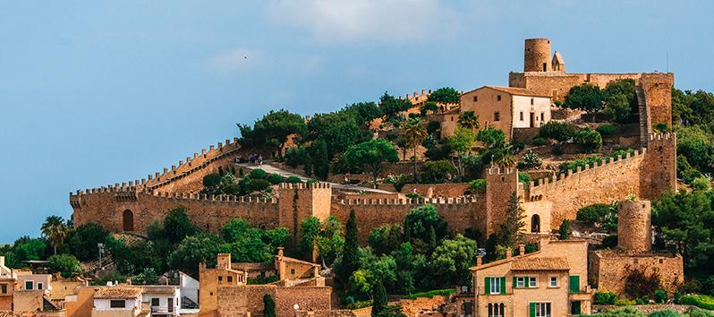 Capdepera, pueblos del interior de Mallorca