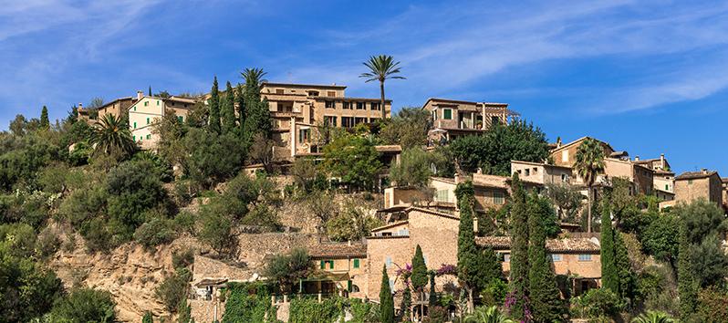 Deià, pueblos del interior de Mallorca