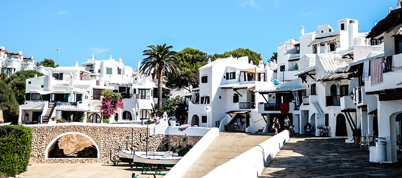 spots in Menorca, Binibeca