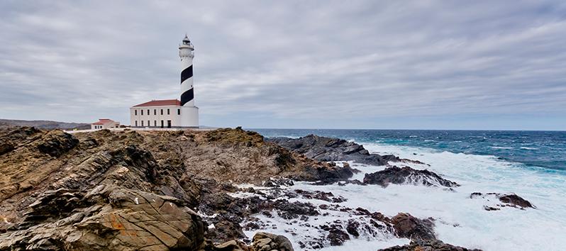 spots in Menorca, Favàritx lighthouse
