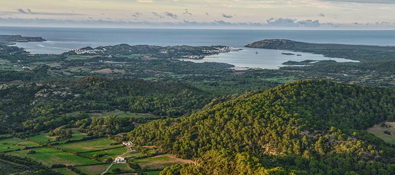 spots in Menorca, Monte Toro