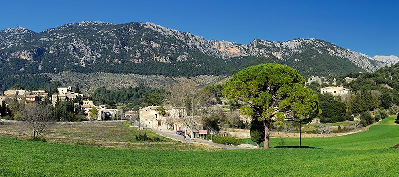 Orient. pueblos del interior de Mallorca