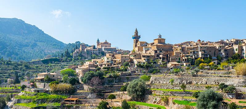 Valldemossa, pueblos del interior de Mallorca