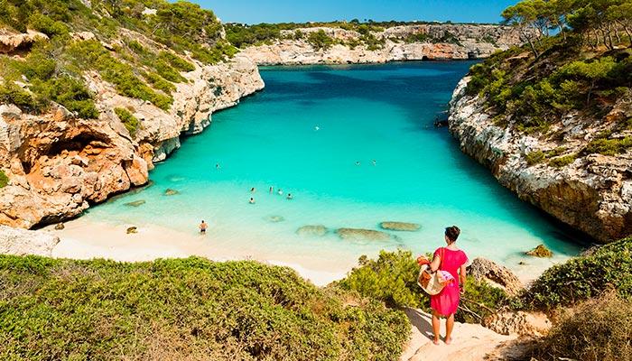 best beaches in Spain, Calò des Moro (Mallorca)