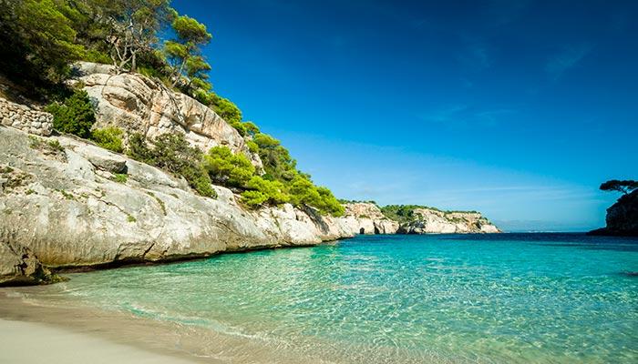 best beaches in Spain, Macarella (Menorca)