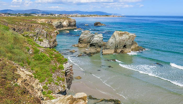 best beaches in Spain, Catedrales (Ribadeo)