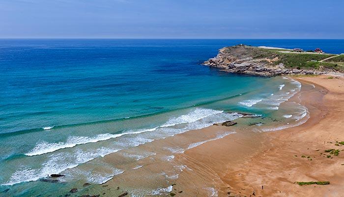best beaches in Spain, Los locos (Suances)