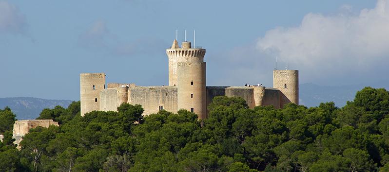 curiosidades sobre Mallorca_castillo de Bellver