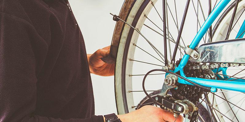 consejos viajar en bicicleta bicicleta