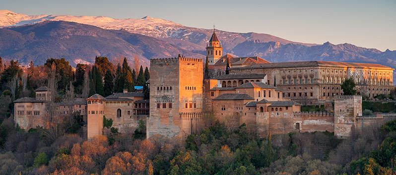 travel on Valentine's Day, Granada (Spain)