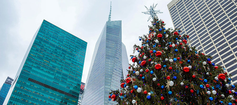 destinations to travel during christmas, New York