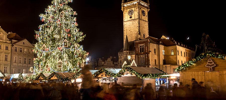 destinations to travel during christmas, Prague