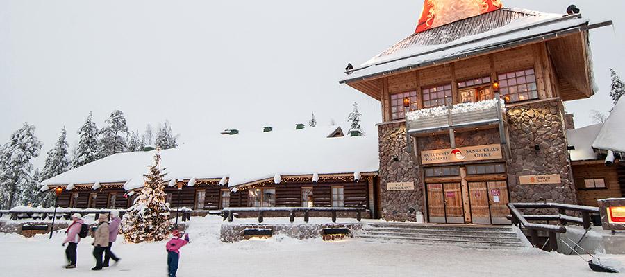 destinations to travel during christmas, Rovaniemi