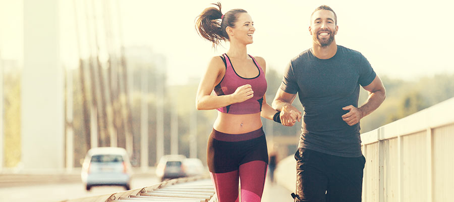 sports to practice as a couple, Jogging