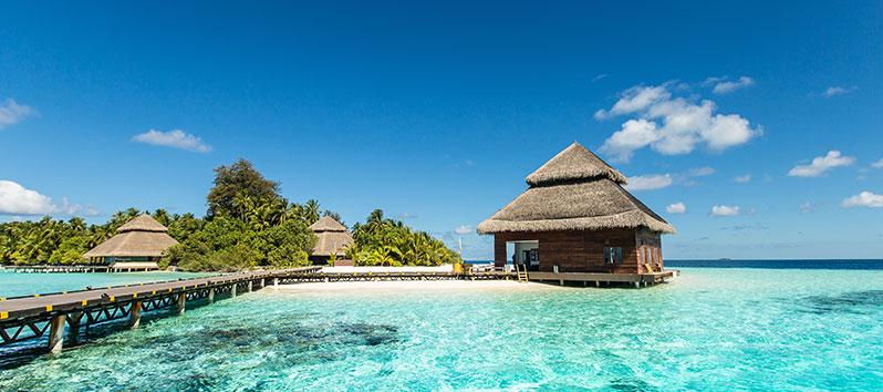 mejores lugares para unas vacaciones deportivas, Maldivas