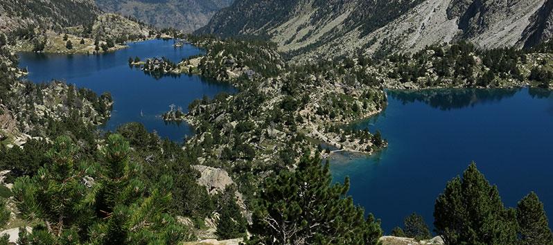 mejores lugares para unas vacaciones deportivas, Pirineos