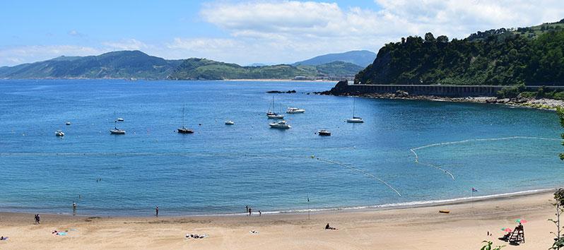 mejores lugares para unas vacaciones deportivas, Playa de Malkorbe (Getaria)