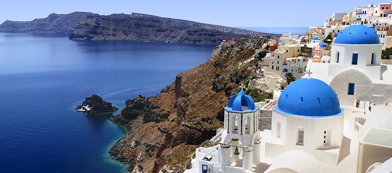 travel on Valentine's Day, Santorini (Greece)