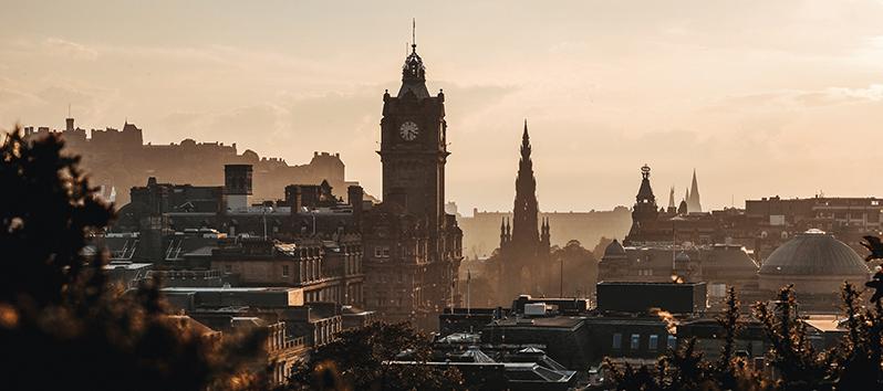 destinos para puentes de 3 días, Edimburgo (Escocia)
