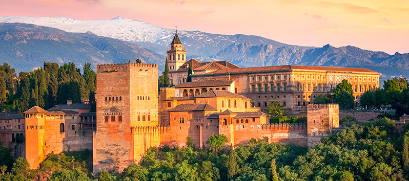 destinos para puentes de 3 días, Granada (Andalucía)