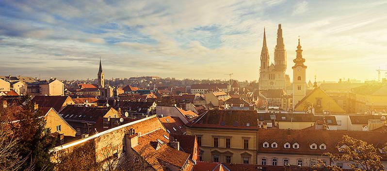 destinos para puentes de 3 días, Zagreb (Croacia)