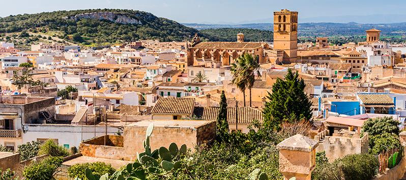 Ruta de los almendros de Mallorca, comarca de Raiguer