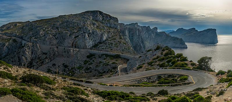 hacer fotos en Baleares, Cap de Formentor