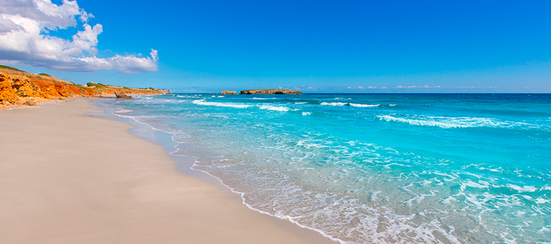 beaches of Menorca to go with dogs, Binigaus beach (Menorca)