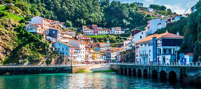 Pueblos pesqueros de España, Cudillero (Asturias)