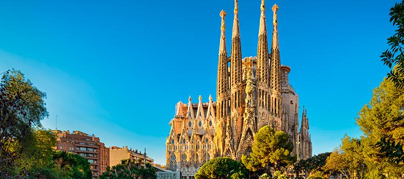 escapadas de fin de semana, La Sagrada Familia (Barcelona)