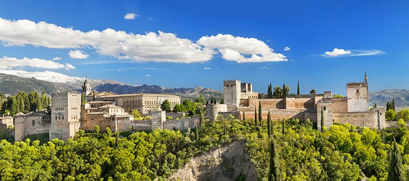 escapadas de fin de semana, La Alhambra (Granada)