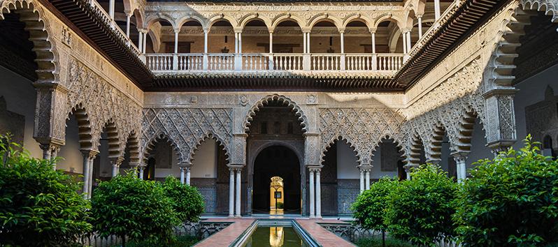 escapadas de fin de semana, Alcázar de Sevilla (Sevilla)
