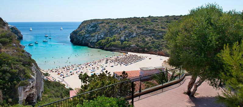 Cala en Porter, excursiones en barco en Menorca