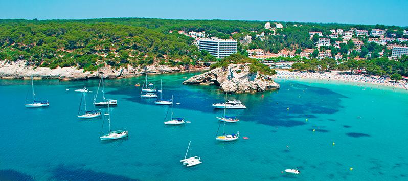Cala Galdana, excursiones en barco en Menorca