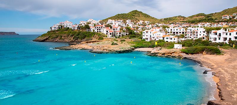 Cala Tirant, excursiones en barco en Menorca