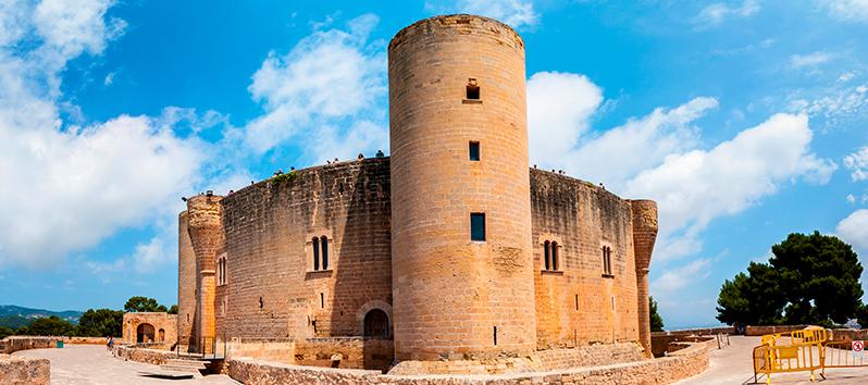 Castillo de Bellver, visitas gratuitas en Mallorca