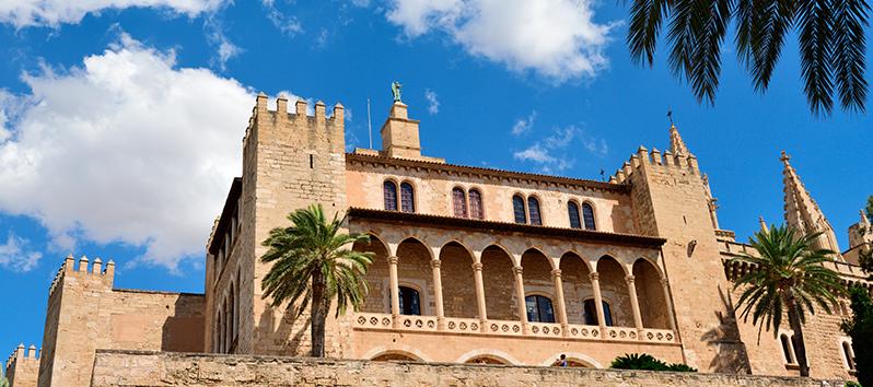 El Palacio de la Almudaina, visitas gratuitas en Mallorca