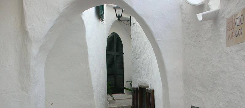 laberinto de calles_Binibeca Vell